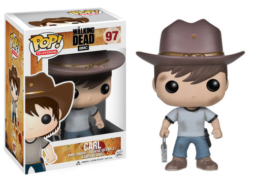 Walking Dead Funko POP! Television Carl Vinyl Figure #97