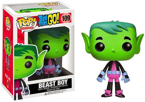 Teen Titans Go! Funko POP! Television Beast Boy Vinyl Figure #109