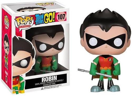 Teen Titans Go! Funko POP! Television Robin Vinyl Figure #107