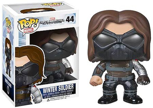 Captain America: The Winter Soldier Funko POP! Marvel Winter Soldier Vinyl Bobble Head #44 [Masked]