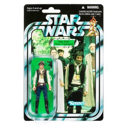 Star Wars A New Hope Vintage Collection 2011 Han Solo Action Figure #42 [Yavin Ceremony]