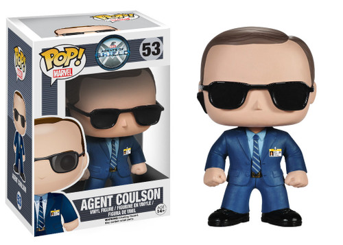 Agents of S.H.I.E.L.D Funko POP! Marvel Agent Coulson Vinyl Figure #53