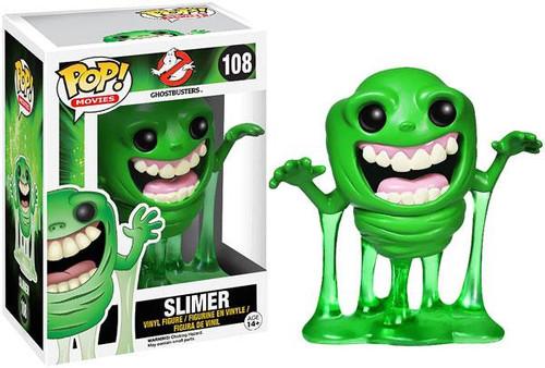 Ghostbusters Funko POP! Movies Slimer Vinyl Figure #108