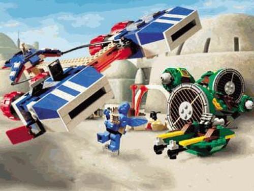 LEGO Star Wars Loose Watto's Junkyard Set #7186 [Loose, No Minifigures]