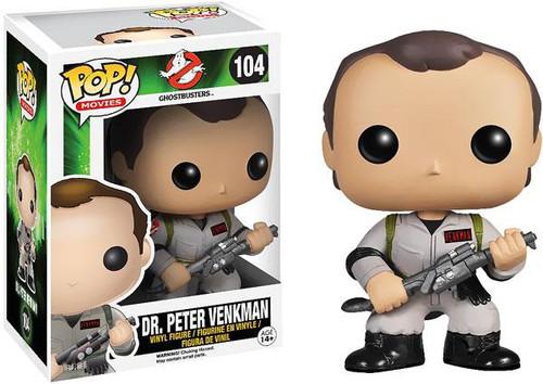 Ghostbusters Funko POP! Movies Dr. Peter Venkman Vinyl Figure #104