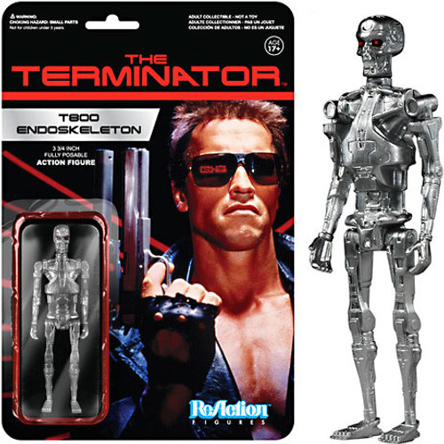 Funko The Terminator ReAction T800 Endoskeleton Action Figure