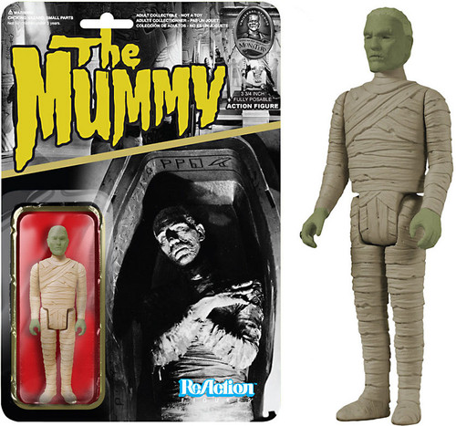 Funko Universal Monsters ReAction Mummy Action Figure