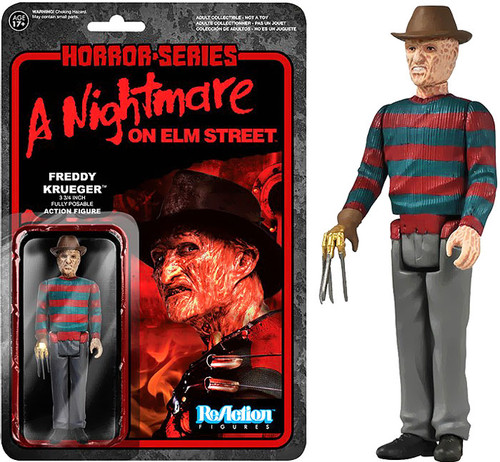 Funko A Nightmare on Elm Street ReAction Freddy Krueger Action Figure
