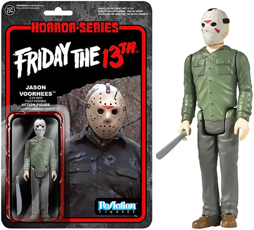 Funko Friday the 13th ReAction Jason Voorhees Action Figure