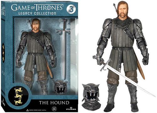 Funko Game of Thrones Legacy Collection Series 1 The Hound Action Figure