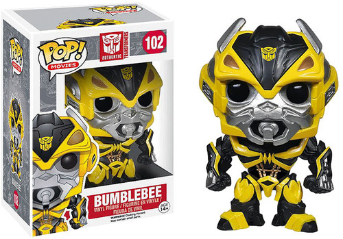 Transformers Age of Extinction Funko POP! Movies Bumblebee Vinyl Figure #102