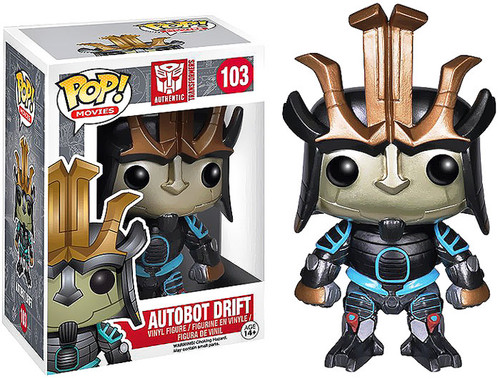 Transformers Age of Extinction Funko POP! Movies Autobot Drift Vinyl Figure #103