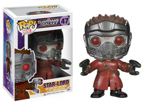 Guardians of the Galaxy Funko POP! Marvel Star Lord Vinyl Bobble Head #47