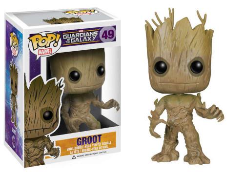 Guardians of the Galaxy Funko POP! Marvel Groot Vinyl Bobble Head #49