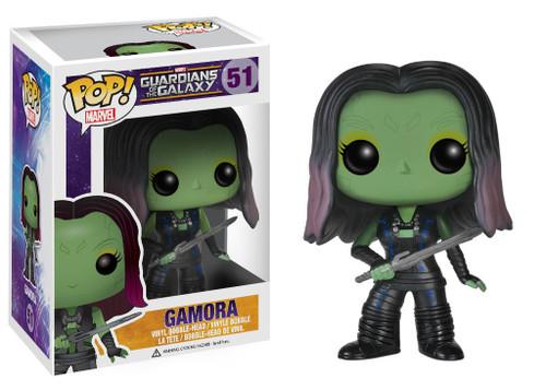Guardians of the Galaxy Funko POP! Marvel Gamora Vinyl Bobble Head #51