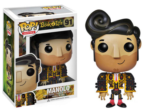 The Book of Life Funko POP! Movies Manolo Vinyl Figure #91