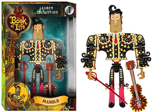 Funko The Book of Life Legacy Collection Manolo Action Figure #1