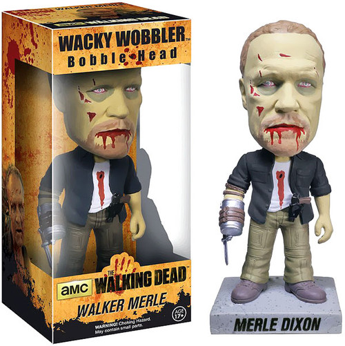 Funko Walking Dead Wacky Wobbler Walker Merle Bobble Head