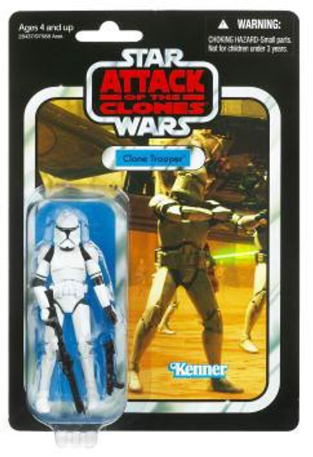 Star Wars Attack of the Clones Vintage Collection 2011 Clone Trooper Action Figure #45
