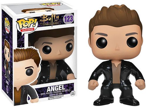 Buffy The Vampire Slayer Funko POP! Television Angel Vinyl Figure #123