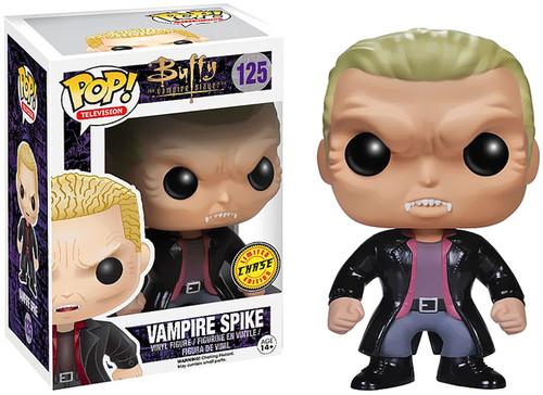 Buffy The Vampire Slayer Funko POP! Television Vampire Spike Vinyl Figure #125 [Vampire Face]