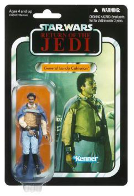 Star Wars Return of the Jedi Vintage Collection 2011 General Lando Calrissian Action Figure #47