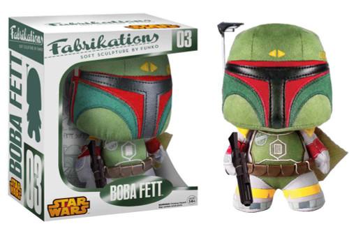 Star Wars Funko Fabrikations Boba Fett Plush #03