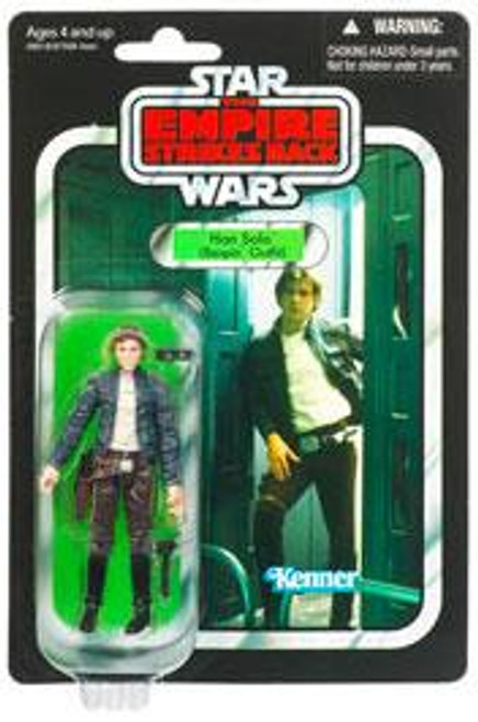 Star Wars Empire Strikes Back Vintage Collection 2011 Han Solo Action Figure #50 [Bespin Outfit]