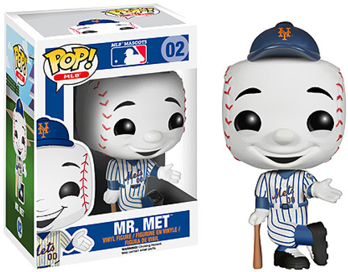 Major League Baseball Funko POP! Sports Mr. Met Vinyl Figure #2