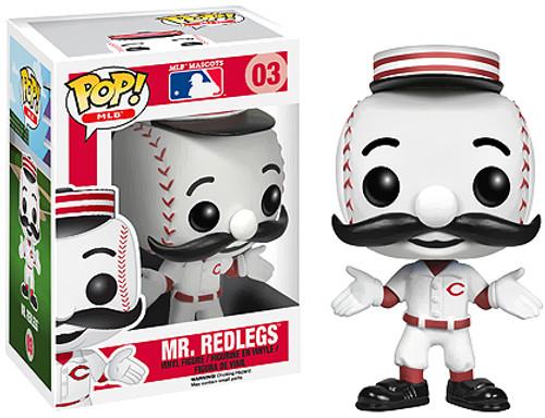 Major League Baseball Funko POP! Sports Mr. Redlegs Vinyl Figure #03