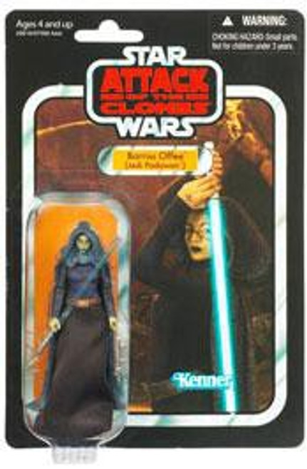 Star Wars Attack of the Clones Vintage Collection 2011 Barriss Offee Action Figure #51 [Jedi Padawan]