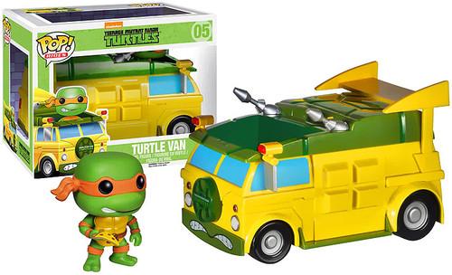 Teenage Mutant Ninja Turtles Funko POP! Television Turtle Van Vinyl Figure #05