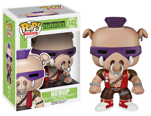 Teenage Mutant Ninja Turtles Funko POP! Television Bebop Vinyl Figure #142