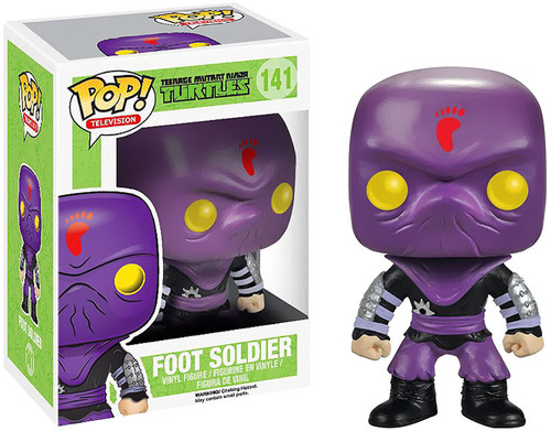 Teenage Mutant Ninja Turtles Funko POP! Television Foot Soldier Vinyl Figure #141