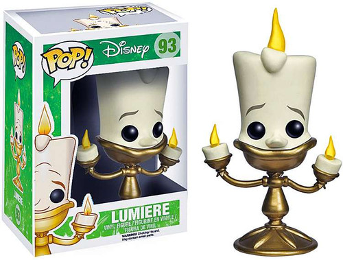 Beauty and the Beast Funko POP! Disney Lumiere Vinyl Figure #93
