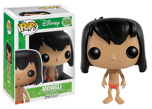 The Jungle Book Funko POP! Disney Mowgli Vinyl Figure #100