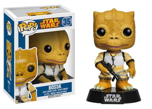 Funko POP! Star Wars Bossk Vinyl Bobble Head #35