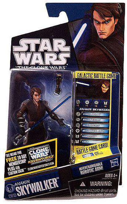 Star Wars The Clone Wars Clone Wars 2011 Anakin Skywalker Action Figure CW45