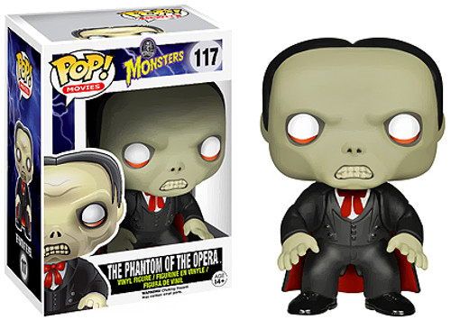 Universal Monsters Funko POP! Movies Phantom of the Opera Vinyl Figure #117