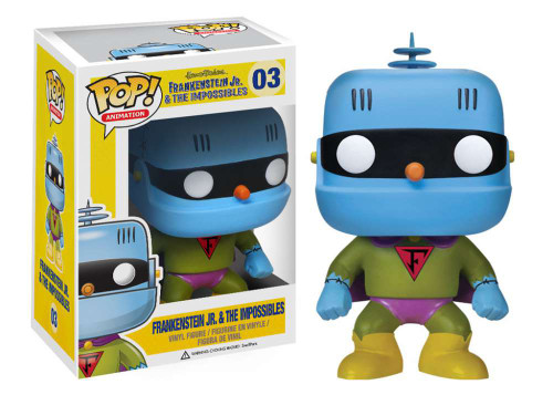 Hanna-Barbera Frankenstein Jr. & The Impossibles Funko POP! Movies Frankenstein Jr. Vinyl Figure #03