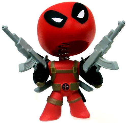 Funko Marvel Series 1 Mystery Minis Deadpool Minifigure [Holding Guns Loose]