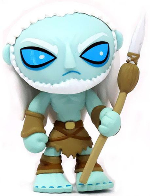 Funko Game of Thrones Series 1 Mystery Minis White Walker 2/24 Common Vinyl Mini Figure [Loose]