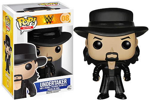 WWE Wrestling Funko POP! Undertaker Vinyl Figure #08