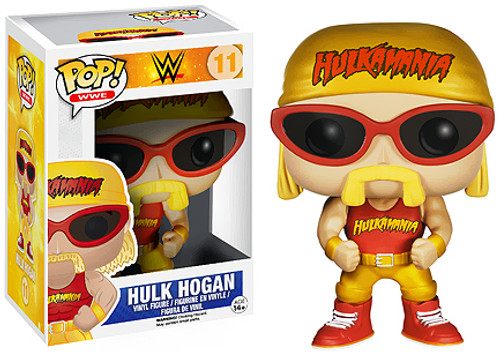 WWE Wrestling Funko POP! Hulk Hogan Vinyl Figure #11