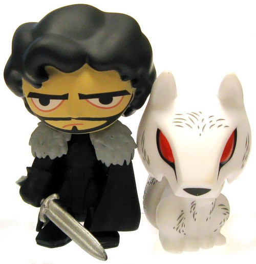 Funko Game of Thrones Series 1 Mystery Minis Jon Snow & Ghost 2.5-Inch Vinyl Mini Figure