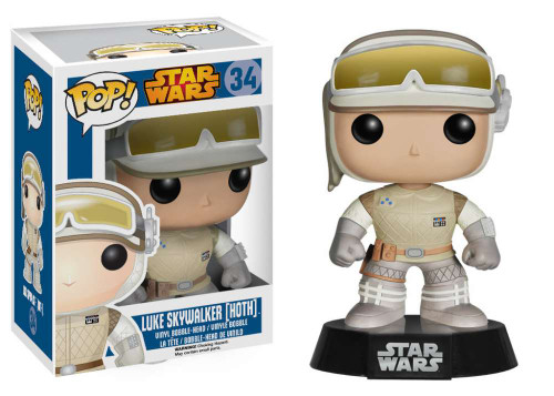 Funko POP! Star Wars Luke Skywalker Vinyl Bobble Head #34 [Hoth]