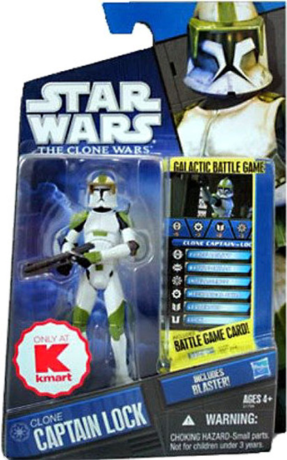 Star Wars The Clone Wars Clone Wars 2010 Clone Captain Lock Exclusive Action Figure