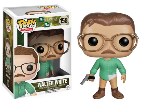 Breaking Bad Funko POP! Television Walter White Vinyl Figure #158 [Green Shirt]