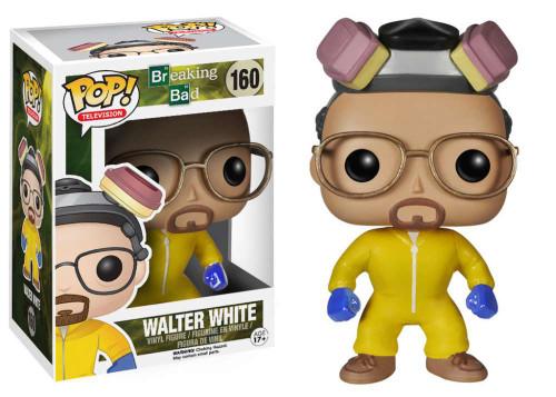 Breaking Bad Funko POP! Television Walter White Vinyl Figure #160 [Yellow Hazmat Suit]