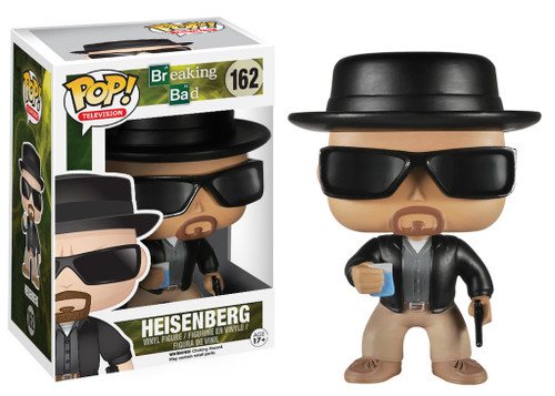 Breaking Bad Funko POP! Television Heisenberg Vinyl Figure #162